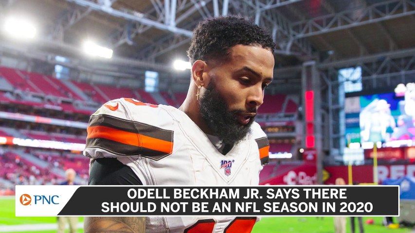 Odell Beckham Jr. Does Not Think There Should Be A 2020 NFL Season