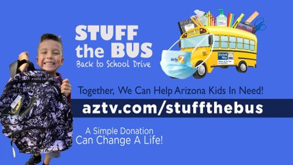 Valley of the Sun United Way is Helping to Stuff the Bus!