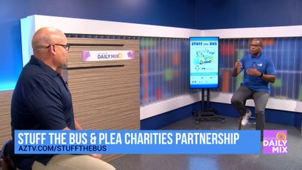 PLEA Charities is Helping to Stuff the Bus!