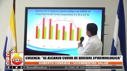 "Cosenza: ""Se alcanzo curva de quiebre epidemiológica"""