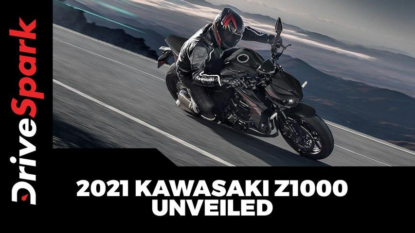 2021 Kawasaki Z1000 Unveiled