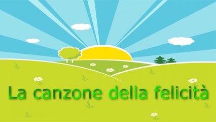 Giulia Parisi - La canzone della felicità - Karaoke per Bambini con testo #karaoke