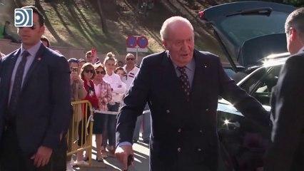 Don Juan Carlos comunica al rey Felipe VI que abandona España