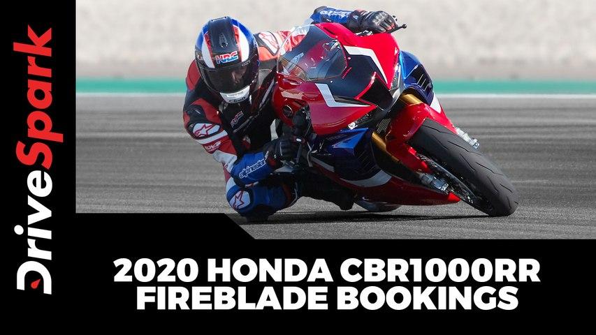 2020 Honda CBR1000RR Fireblade Bookings Open