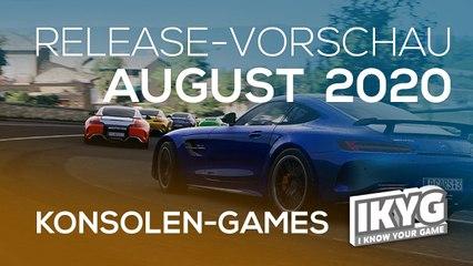Games-Release-Vorschau - August 2020 - KONSOLE