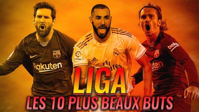 Benzema, Suarez, Griezmann, Messi : Un Top 10 de folie en Liga !