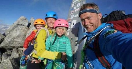 Âgés de 3 et 7 ans, deux enfants deviennent les plus jeunes personnes à gravir la montagne Piz Badile, dans les Alpes