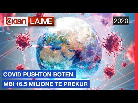 Covid-19 pushton boten, mbi 16.5 milione te prekur |Lajme-News