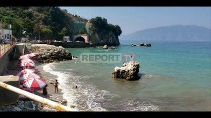 Report TV -Qyteti i Vlorës me trafik të rënduar, shkak fluksi i turistëve nga trojet shqiptare