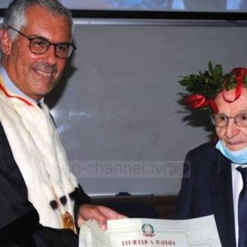 Top News - Veterani 96 vjeçar/ Studenti më i vjetër në Itali