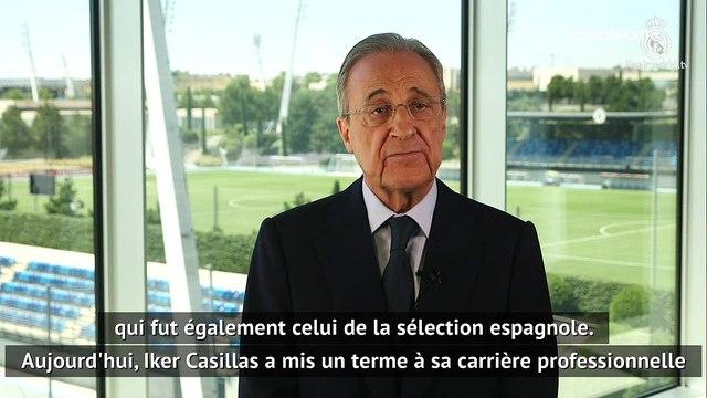 """Pérez : """"Le peuple madrilène est fier de l'un des ses capitaines éternels"""""""