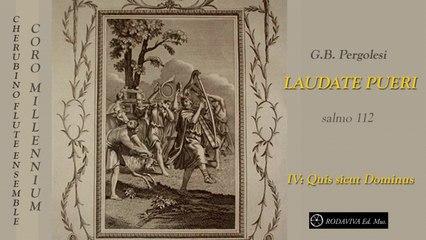Coro Millennium - LAUDATE PUERI - IV