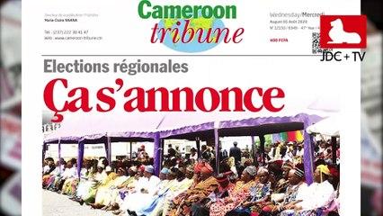 REVUE DE PRESSE CAMEROUNAISE DU 05 AOÛT 2020