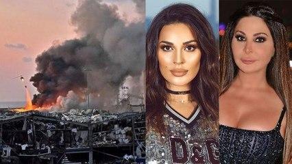 الخراب والأذى يطال النجمات وشخصيّات من السوشيل ميديا في انفجار بيروت