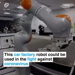 Car Building Robot Adapted To Conduct Science Experiments