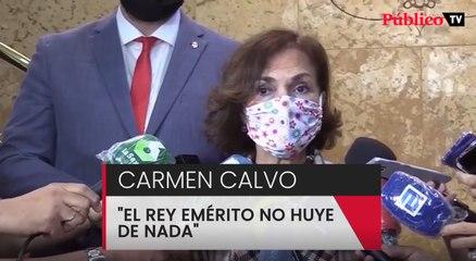 """""""El rey emérito no huye de nada"""""""