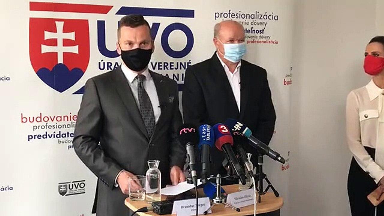 ZÁZNAM: Brífing predsedu ÚVO Miroslava Hliváka