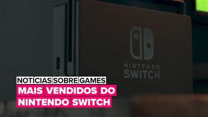 Confira os jogos de Nintendo Switch mais vendidos de todos os tempos