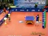 Ping pong 2 gros délire dans un match / sport