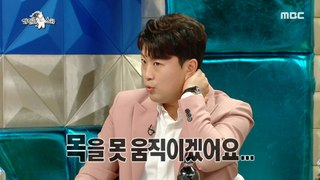 [HOT] Kim Ho-joong, who almost hurt his neck, 라디오스타 20200805