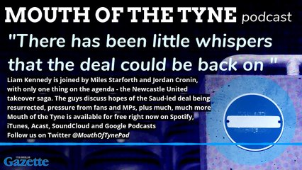 Mouth of the Tyne - a preview from the August 5 podcast
