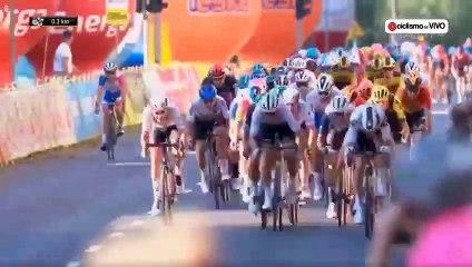 La terrible chute de Fabio Jakobsen, poussé par Dylan Groenewegen lors du sprint du tour de Pologne
