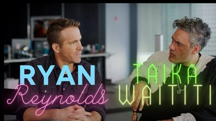Ryan Reynolds and Taika Waititi pretend they weren't in Green Lantern together