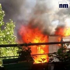 Un violent incendie détruit le McDonald's de Villeneuve-Loubet