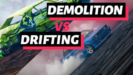 Demolition Derby VS Drifting