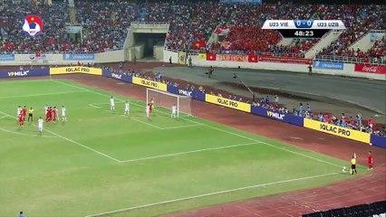 Olympic Việt Nam - Olympic Uzbekistan | Vinaphone Cup | Tái hiện Chung kết lịch sử | VFF Channel