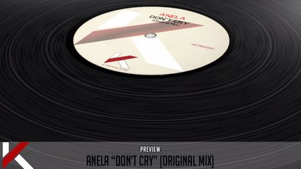 Anela - Don't Cry (Original Mix) - Official Preview (Autektone Dark)