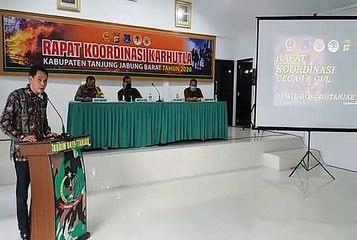 Rapat Kordinasi Pencegahan dan Penanggulangan Karhutla