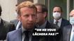 """Emmanuel Macron à Beyrouth pour """"organiser l'aide internationale"""""""