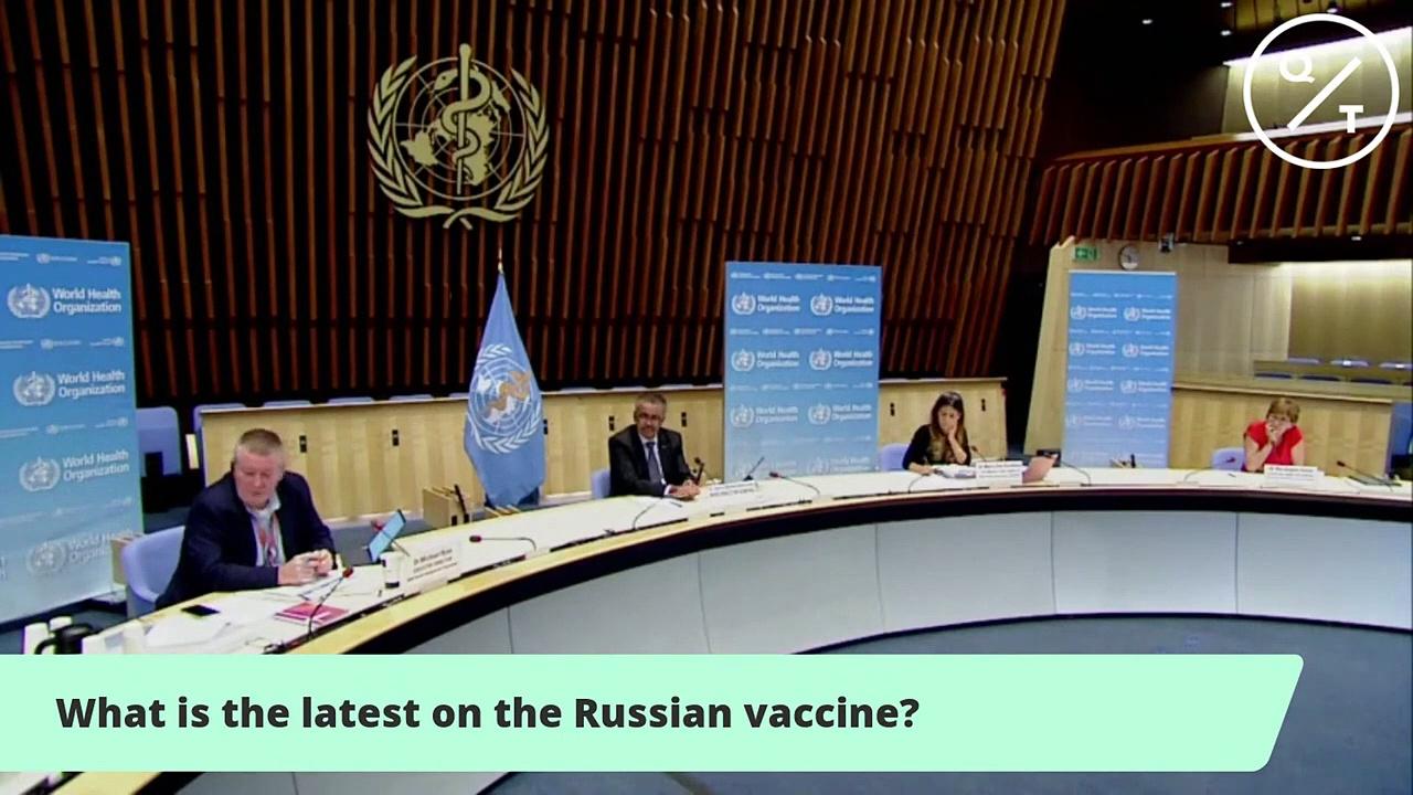 World Health Organization Holds Coronavirus Briefing in Geneva