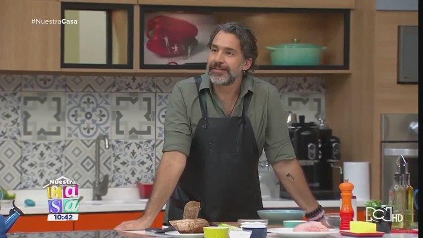 Receta: Chicharrón al horno con salsa de maracuyá