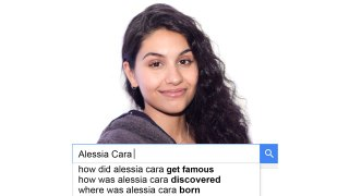 Alessia Cara Answers the Web s Most Searched Quest