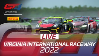 LIVE - GT4 AMERICA - RACE ACTION FROM INDY 2020