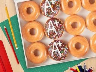 Krispy Kreme Is Giving Free Doughnuts to Teachers Next Week