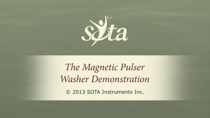 SOTA Magnetic Pulser - Flying Washer Demonstration