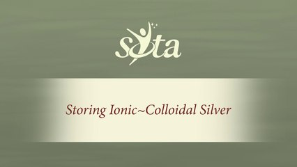 SOTA Silver Pulser - 3 Simple Tips for Storing Ionic-Colloidal Silver