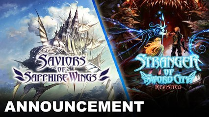 Saviors of Sapphire Wings & Stranger of Sword City Revisited - Trailer d'annonce