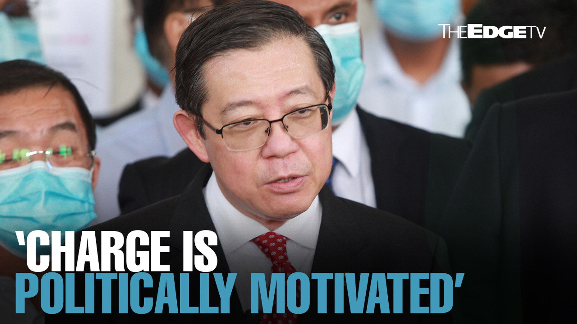 NEWS: Charge is politically motivated, says Lim