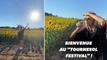 Privée de festivals, Angèle en improvise un... pour des tournesols