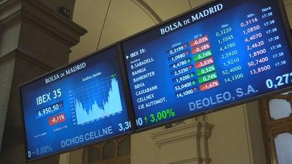 El Ibex 35 cae un 0,11 % pero en la semana suma un 1,06 %