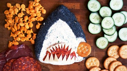 A Sharkcuterie Board Is The Best Way To Celebrate Shark Week