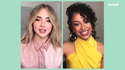 Sabrina Carpenter And Liza Koshy Break Down A Performance From Netflix's 'Work It'