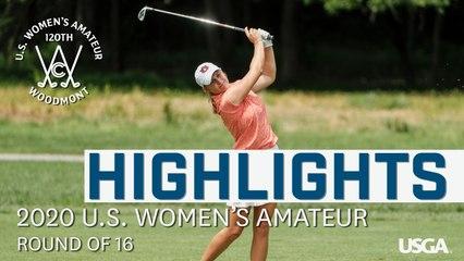 2020 U.S. Women's Amateur Highlights: Friday (Golf)