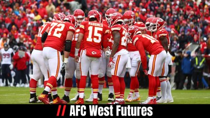 AFC West Futures
