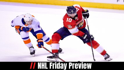 NHL Friday Preview