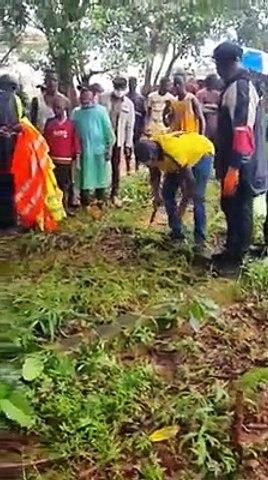 Désherbage du cimetière de Kipé : La touche du ministre Diakaria Koulibaly